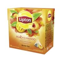 Herbata ekspresowa Brzoskwinia-Mango Lipton 20t piramidka