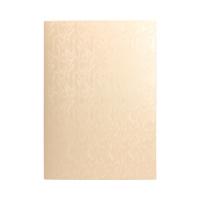 Karton ozdobny A4 220g Papirus/krem - 20 ark.