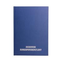 Książka korespondencyjna A4/200 granatowa TO KIN