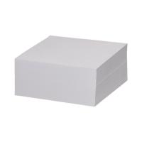 Karteczki 85x85x400 białe nieklejone