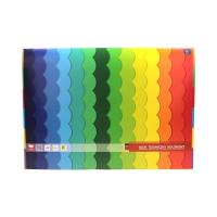 Blok techniczny A3/10 kolorowy Interdruk