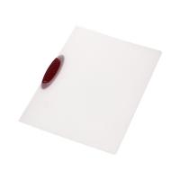 Skoroszyt zaciskowy A4/30k czerwony Swingclip