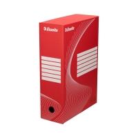 Pudło archiwizacyjne 350x250x100 czerwone Boxy 128422