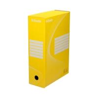 Pudło archiwizacyjne 350x250x100 żółte Boxy 128423