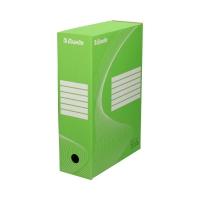 Pudło archiwizacyjne 350x250x100 zielone Boxy 128424