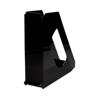 Pojemnik czasopisma 70mm czarny Europost Vivida