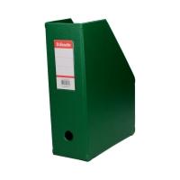 Pojemnik czasopisma 100mm zielony składany Esselte 56076
