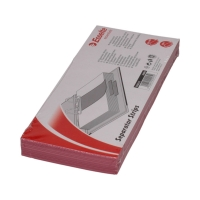 Przekładki kartonowe 1/3 A4 czerwone Esselte (100)