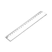 Linijka 20cm plastik KwTrade GR-896