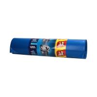 Worki śmieci 120l niebieskie LD JN (25)