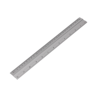 Linijka 30cm aluminium KwTrade GR111-30