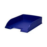 Półka dokumenty A4 niebieska Plus Leitz