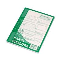 Karta drogowa A5 numerowana MP 802-3N SM101