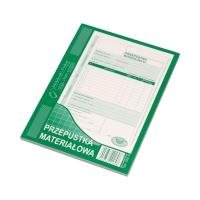 Przepustka materiałowa A5 MP 322-3