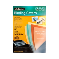 Folia bindowania A4 przezroczysta 150mic Fellowes (100)