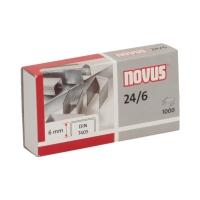 Zszywki 24/6 cynkowe (1000) Novus