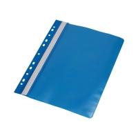 Skoroszyt miękki/perforac A4/PP niebieski PantaPlast 413-003