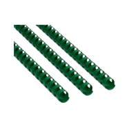 Grzbiet plastikowy 16mm zielony 145k Argo