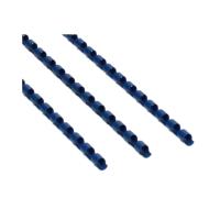 Grzbiet plastikowy 6mm niebieski 25k Argo