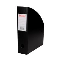 Pojemnik czasopisma 70mm czarny PCV Biurfol