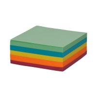 Karteczki 85x85x35 kolor klejone