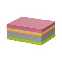 Karteczki 90x75x38 kolor nieklejone