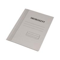 Skoroszyt zwykły A4 1/1 biały 300g KIel-Tech