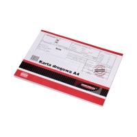 Karta drogowa A4 SM102