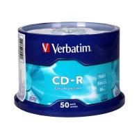 Płyta CD-R cake(50) 52x Verbatim 700MB