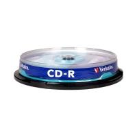Płyta CD-R cake(10) 52x Verbatim 700MB