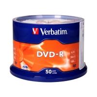 Płyta DVD-R cake(50) 16x Verbatim 4.7GB
