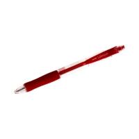 Długopis automatyczny 0.30mm czerwony Uni SN100