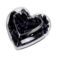 Naboje atramentowe serce niebieskie (50) 80047