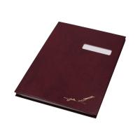 Książka podpis 10k bordowa okienko Barbara