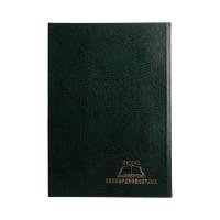 Książka korespondencyjna A4/300 zielona Warta
