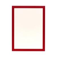 Ramka informacyjna A4 czerwona Duraframe samop (2)