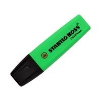 Zakreślacz zielony Boss Stabilo 70/33