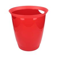 Kosz śmieci 16l czerwony Trend Durable