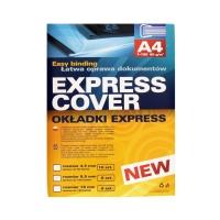 Okładka do bindowania niebieska 9.5mm Ekspress 8szt.