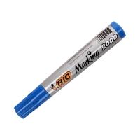 Marker permanentny 1.7mm niebieski okrągły Bic