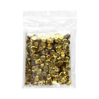 Cekiny błyszczące złoty B110 Brewis