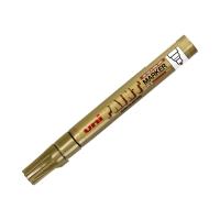 Marker olejowy 2.2-2.8mm złoty okrągły Uni PX20