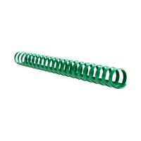 Grzbiet plastikowy 25mm zielony 240k Argo