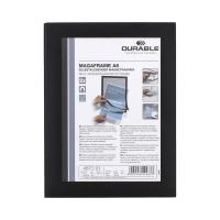 Ramka informacyjna A6 czarna Duraframe samop (2)