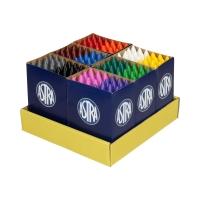 Zestaw kredek 144szt. 12 kolorów