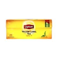 Herbata ekspresowa Lipton Yellow 25t