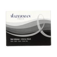 Naboje atramentowe czarne (8) Waterman S0110850
