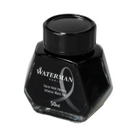 Atrament 50ml czarny Waterman S0110710