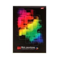 Blok rysunkowy A4/16 kolorowy Strzegom