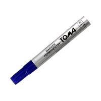 Marker permanentny 1.5mm niebieski okrągły Toma TO090